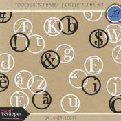 Toolbox Alphabet- Circle Alpha Kit