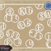 Toolbox Alphabet- Circle Alphabet Template Kit