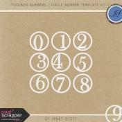 Toolbox Numbers- Circle Number Template Kit 1
