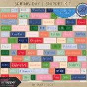 Spring Day- Snippet Kit