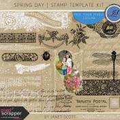 Spring Day- Stamp Kit