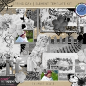 Spring Day- Element Template Kit