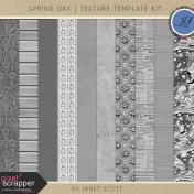 Spring Day- Texture Template Kit