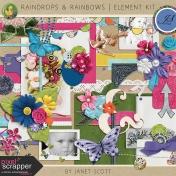 Raindrops & Rainbows- Element Kit