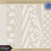 Raindrops & Rainbows- Vellum Kit