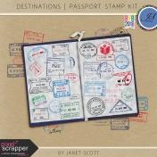 Destinations- Passport Stamp Kit