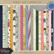 Family Day- Paper Kit