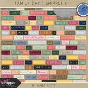 Family Day- Snippet Kit