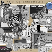 Family Day- Element Template Kit