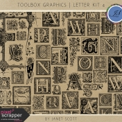Toolbox Graphics- Letter Kit 4