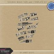 Toolbox Washi Tape 006- Template Kit