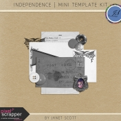 Independence- Mini Template Kit