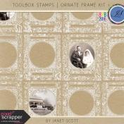 Toolbox Stamps- Ornate Frame Kit 1
