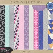 Digital Day- Paper Kit 1