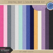 Digital Day- Solid Paper Kit