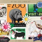 At the Zoo- Mini Kit