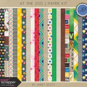 At the Zoo- Paper Kit
