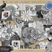 At The Zoo - Element Template Kit