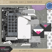 Digital Day- Template Kit
