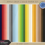 Apple Crisp- Solid Paper Kit
