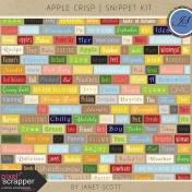 Apple Crisp- Snippet Kit