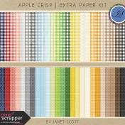 Apple Crisp - Extra Paper Kit