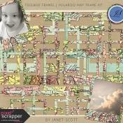Toolbox Frames- Polaroid Map Frame Kit
