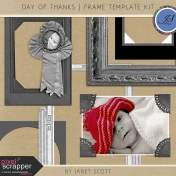 Day of Thanks- Frame Template Kit