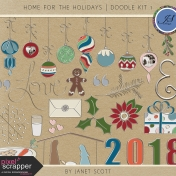 Home for the Holidays - Doodle Kit 1