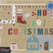 Home for the Holidays - Doodle Kit 2