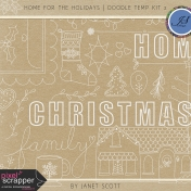 Home for the Holidays- Doodle Temp Kit 2