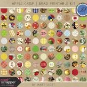 Apple Crisp- Brad Printable Kit