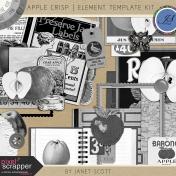 Apple Crisp- Element Template Kit