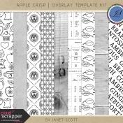 Apple Crisp- Overlay Template Kit