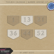 Toolbox Calendar- Number Arrows Kit