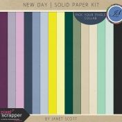 New Day- Solid Paper Kit