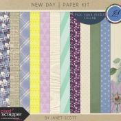New Day- Paper Kit