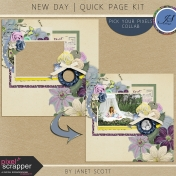 New Day- Quick Page Kit
