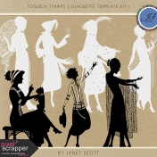 Toolbox Stamps- Silhouette Template Kit 1