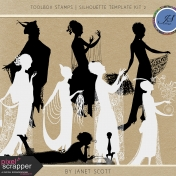 Toolbox Stamps- Silhouette Template Kit 2