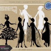 Toolbox Stamps- Silhouette Template Kit 3