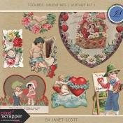 Toolbox Valentines- Vintage Kit 1