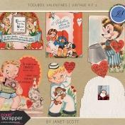 Toolbox Valentines- Vintage Kit 2