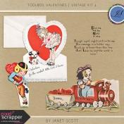Toolbox Valentines- Vintage Kit 4