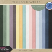 Fresh- Solid Paper Kit