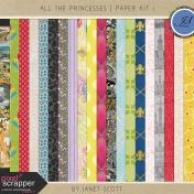 All the Princesses- Paper Kit 1