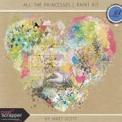 All the Princesses- Paint Kit