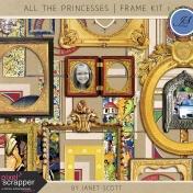 All the Princesses- Frame Kit 1