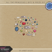 All the Princesses- Bits & Pieces Kit