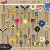 All the Princesses- Clips Kit